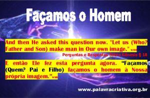 FAÇAMOS O HOMEM 3