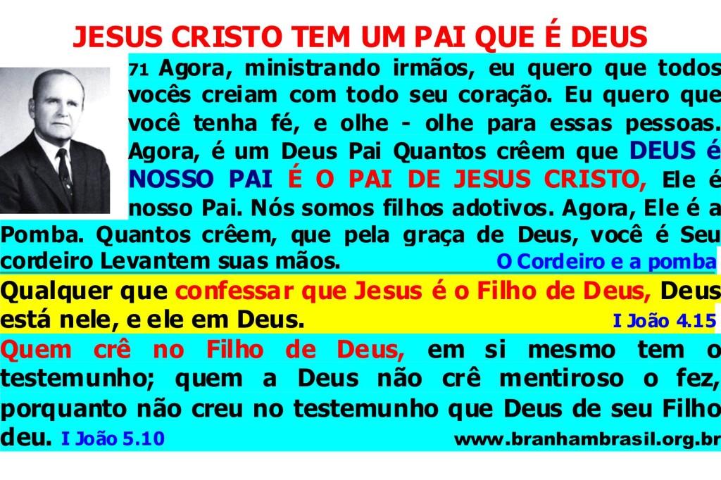 PAI DE JESUS CRISTO